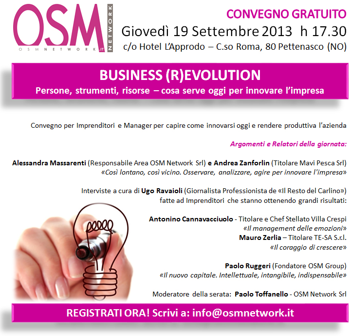 Invito convention 19 settembre